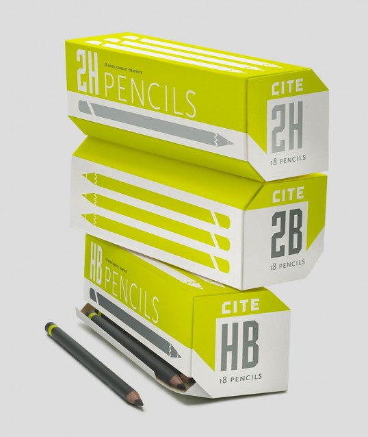 Pencil packaging by Cite