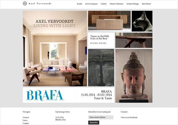 Interior Designer Portfolio Website