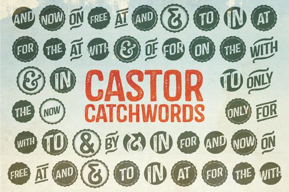 castor-catchwords