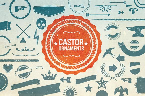 castor-ornaments