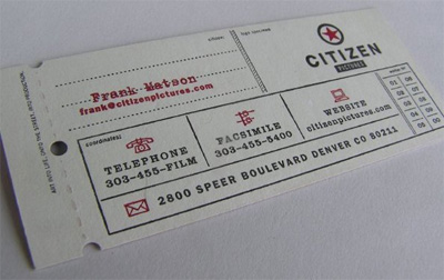 citizen1 25 Beautiful Vintage Style Business Card Designs