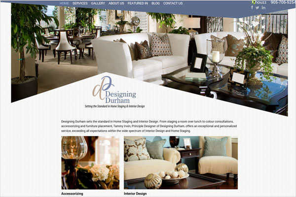 designing durham website 33 Clean, Minimalist, and Simple Interior Design Websites