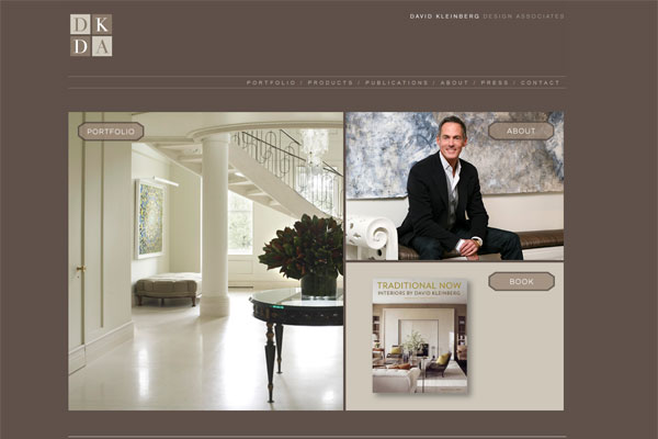 dkda website 33 Clean, Minimalist, and Simple Interior Design Websites