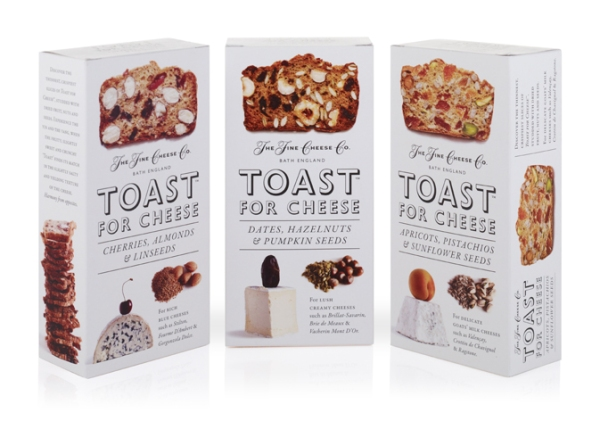 The Fine Cheese Co Toasts for Cheese