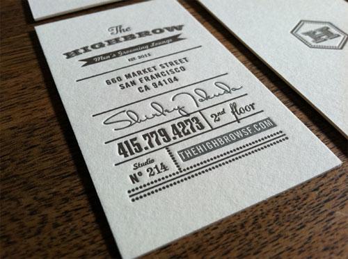 25 cartes de visitas ao bom e velho estilo vintage clube do design highbrow1 25 beautiful vintage style business card designs reheart Gallery