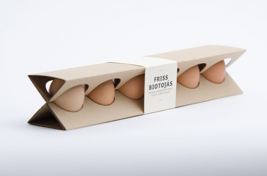 Egg Packaging by Otília Erdélyi