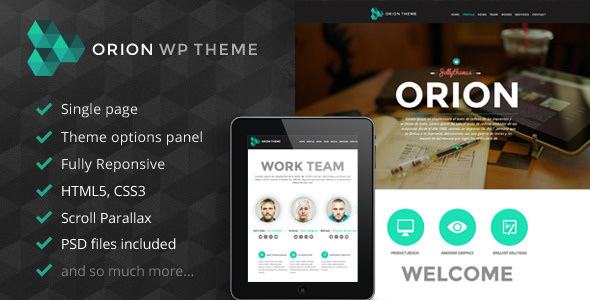 pre02   large preview1 35 Premium Single Page WordPress Themes
