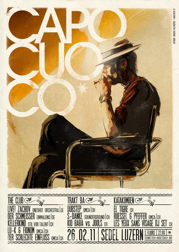 tumblr lqnbxqacc61qzux4zo1 12801 45 Creative Gig Poster Designs