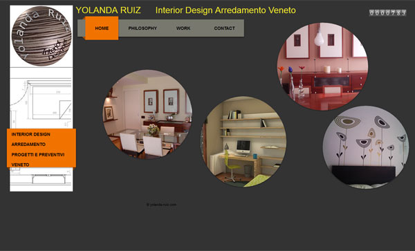 yolanda ruiz portfolio 33 Clean, Minimalist, and Simple Interior Design Websites