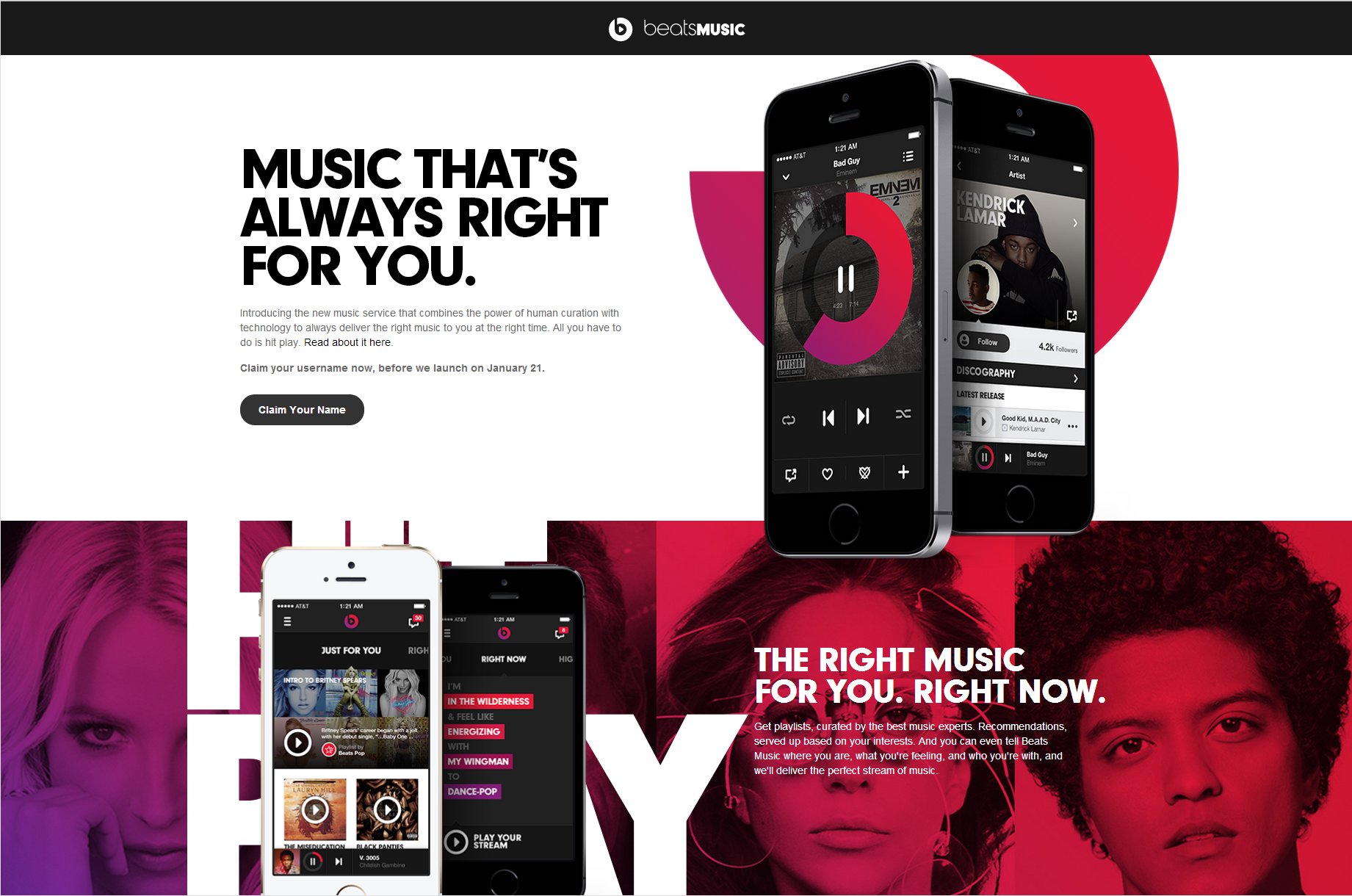 beatsmusic1 Top 5 Best Music Streaming Services