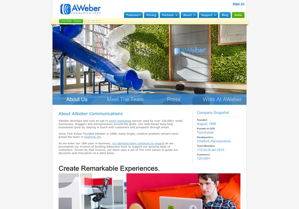 www aweber com55191 How to Create a Stellar About Us Page