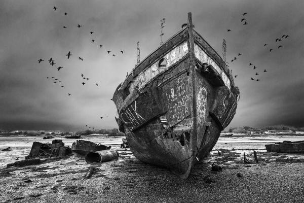 The Wreck by Roger Dixey