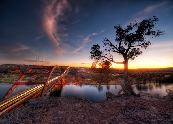 Another Sunset in Austin by Trey Ratcliff