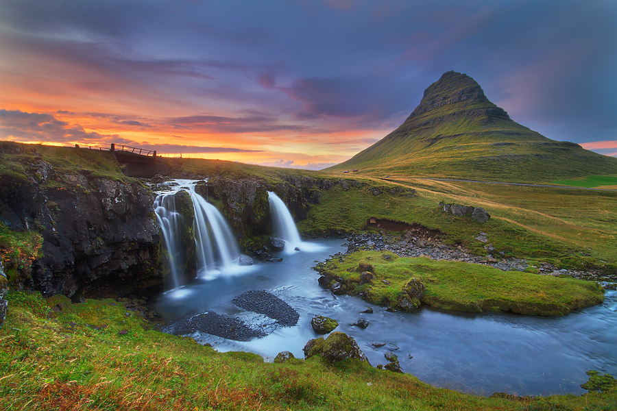 Kirkjufell evening by Dylan Toh & Marianne Lim