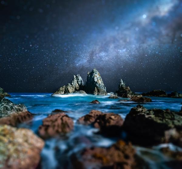 Mysterious Night by AtomicZen