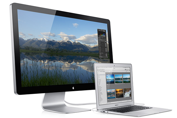 apple thunderbolt display Top 5 Computer Monitors for Designers