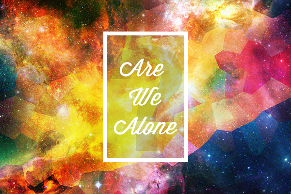 Are-we-alone