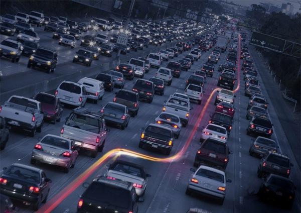 Beat The Traffic Jam – Vespa by JWT Agency