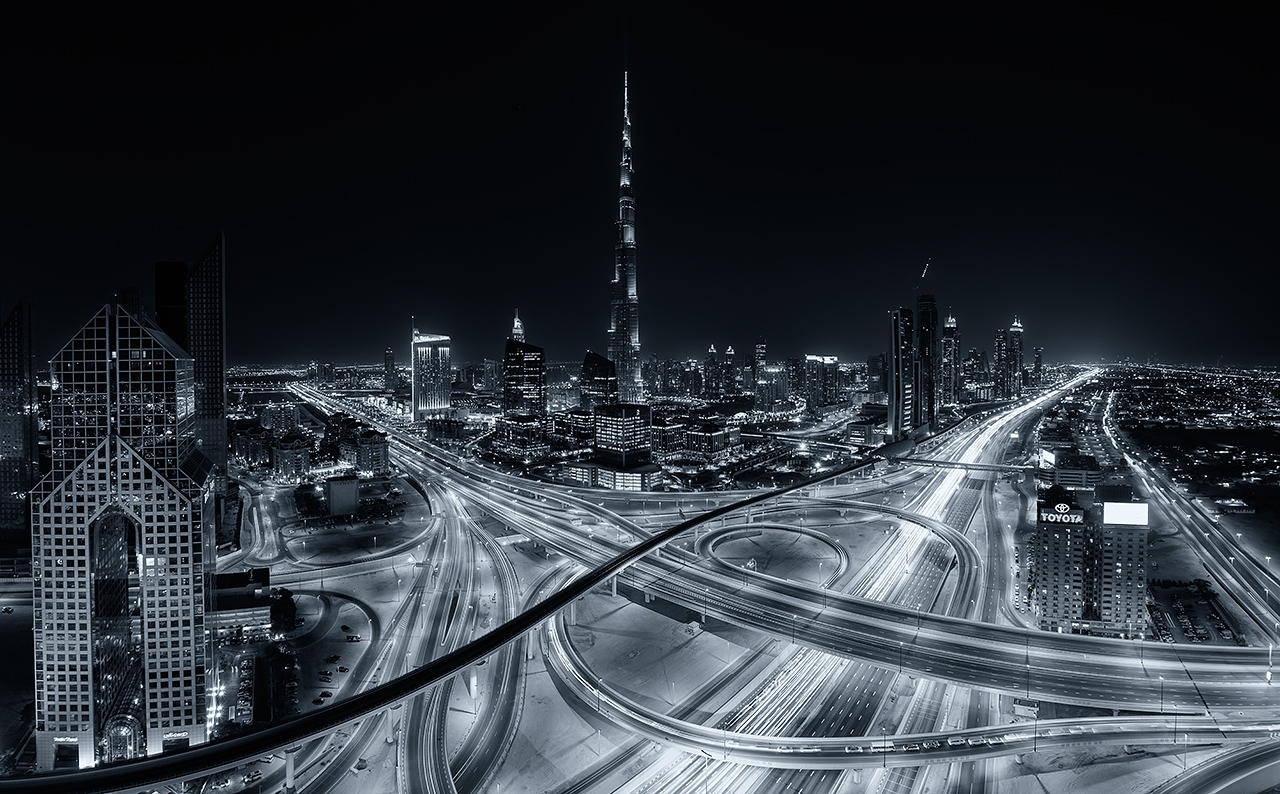 Dark City by Daniel Cheong