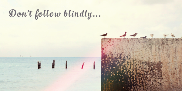 Don't-follow-blindly