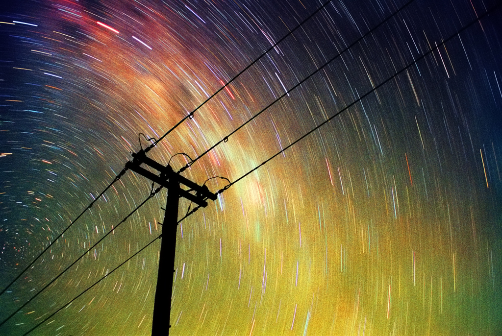 Energy - Film Long Exposure by Cameron Jung