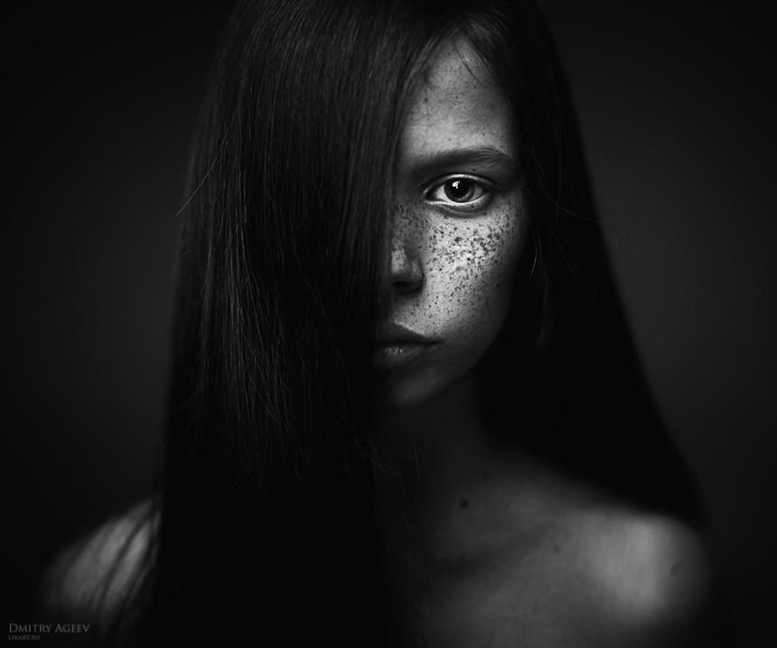 Girl by Dmitry Ageev