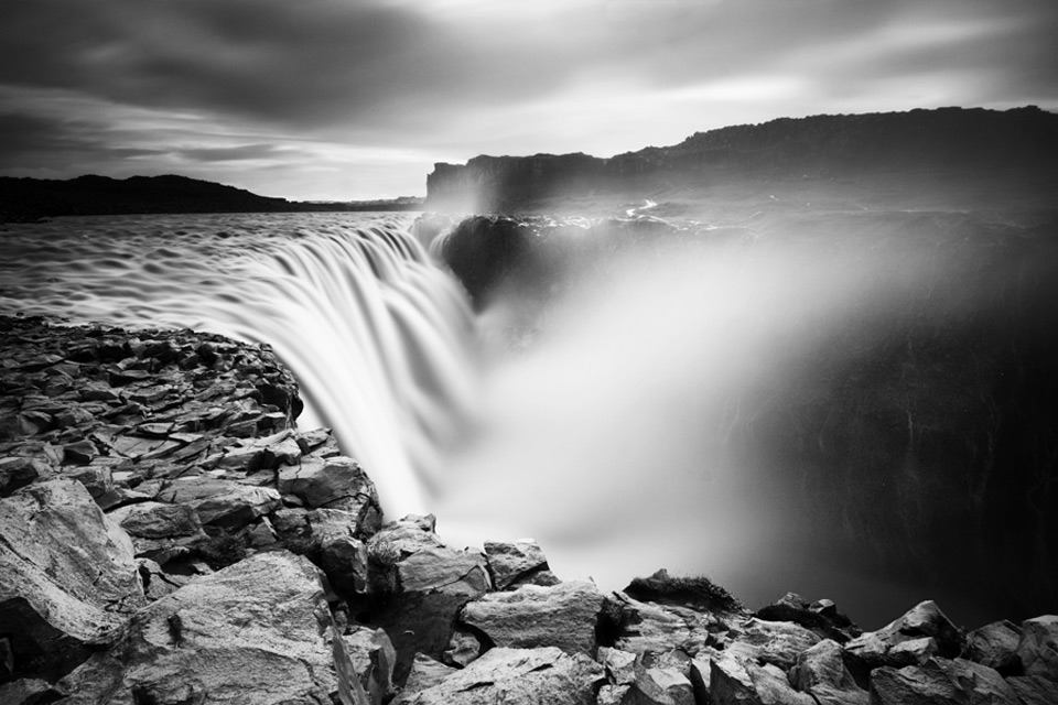Long Exposure Waterfall by Martin Krenovsky