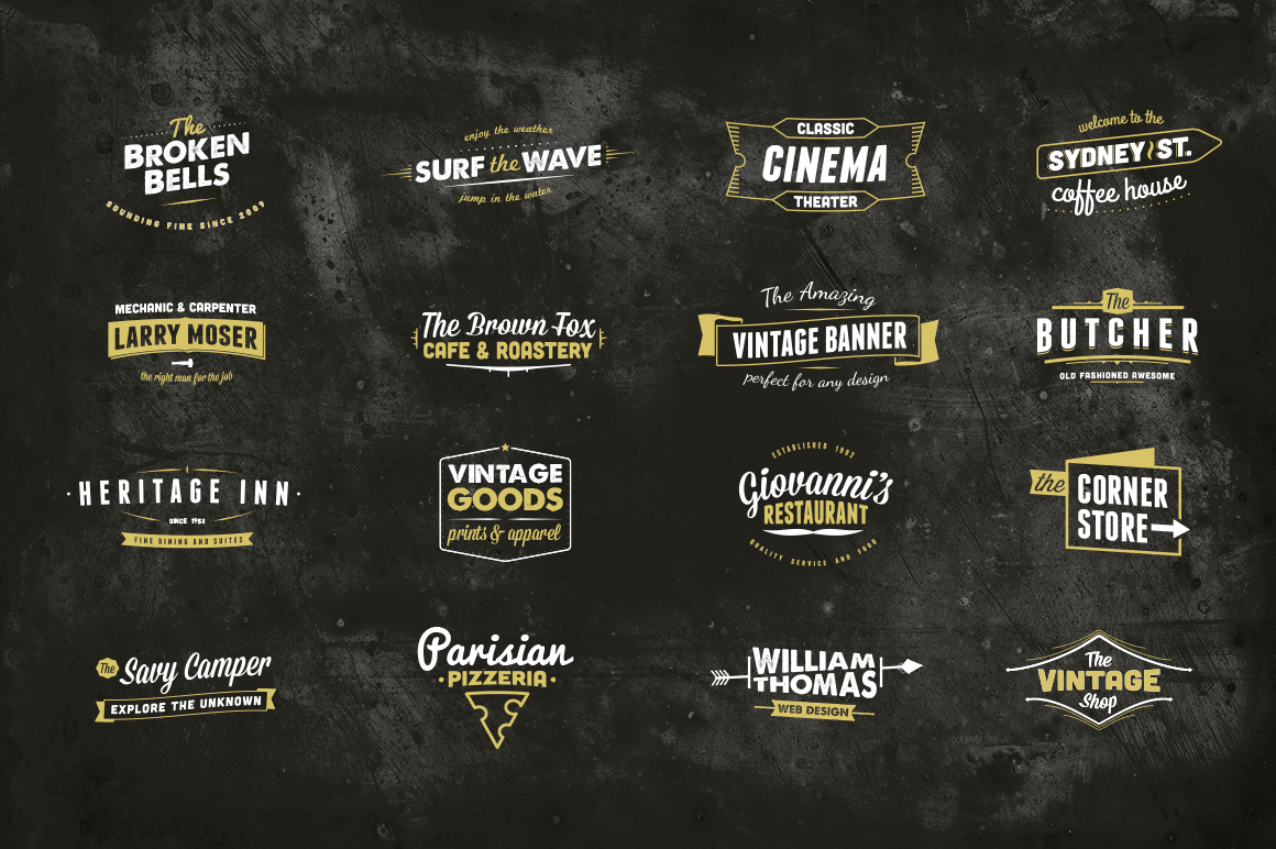 16 Wordmark Logos by Scott Byrne
