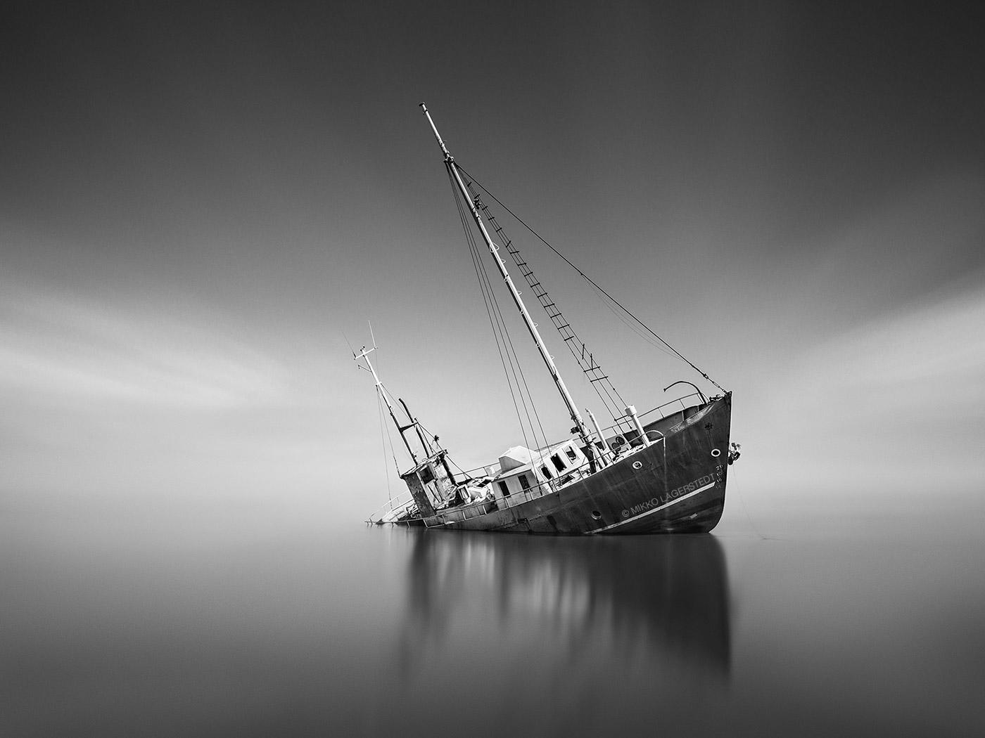 Shipwreck by Mikko Lagerstedt