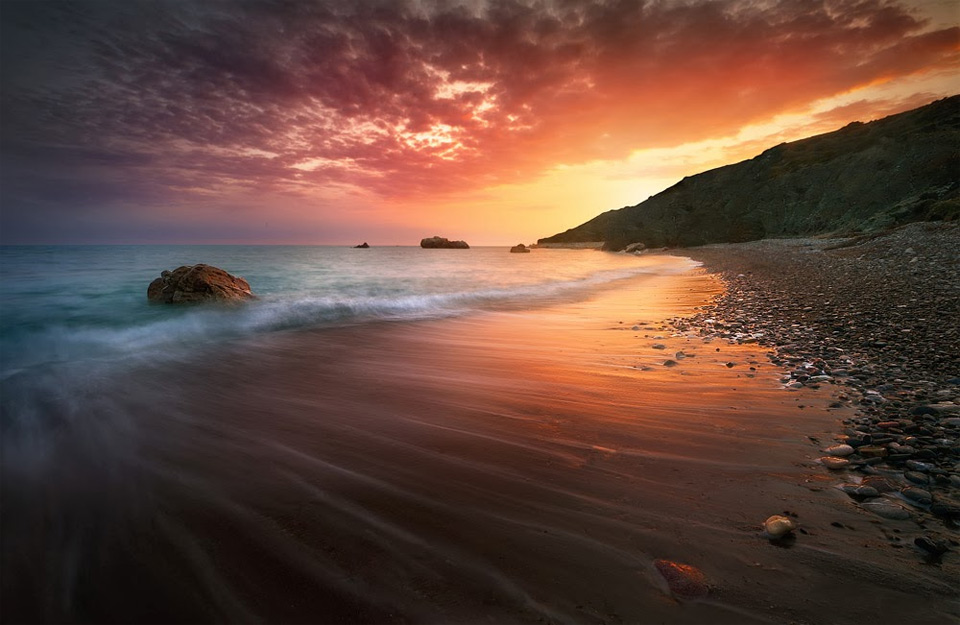 spectacular cyprus sunset by tomasz huczek 60 Spectacular Examples of Long Exposure Photography