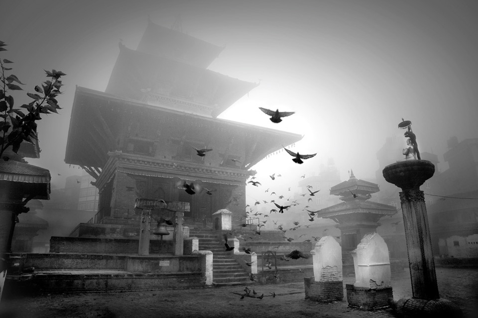 Temple In The Sky by Larry Louie