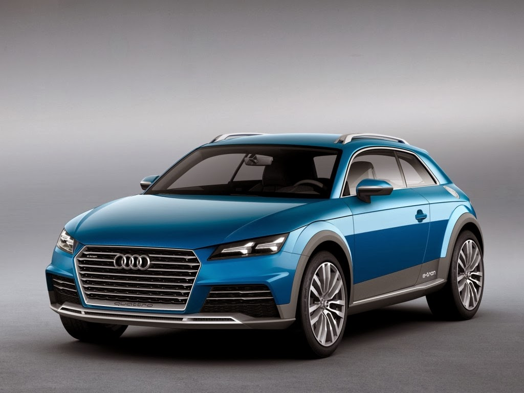 Audi All-road Shooting Brake Plug-in Hybrid Concept