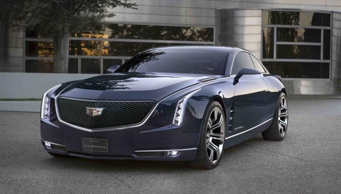Cadillac Elmiraj Concept Coupe