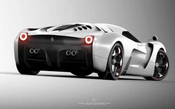 Ferrari 458 Italia Project F Concept