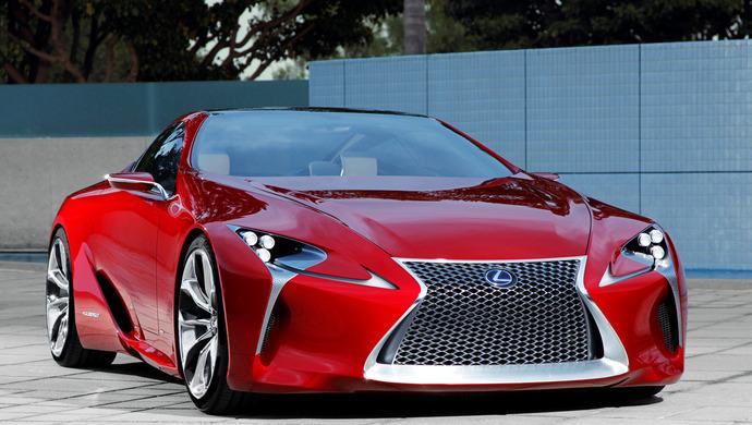 Lexus LF LC Hybrid Concept