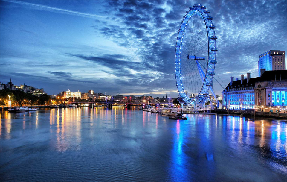 London Eye, Night Experience By Tom Denning