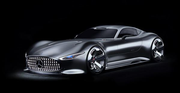 Mercedes Benz X AMG Cigarette Racing-50 Vision GT Concept