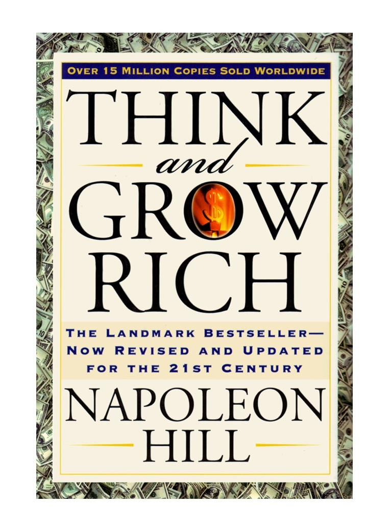 think and grow rich 20 Books Every Aspiring Entrepreneur Needs To Read