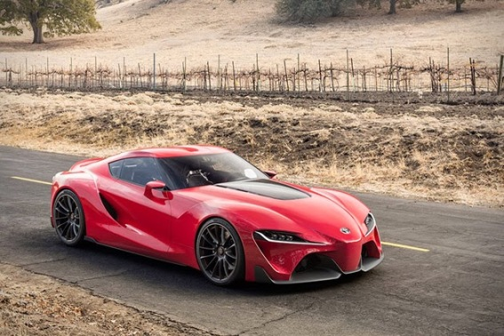Toyota FT 1-Sports Coupe Concept