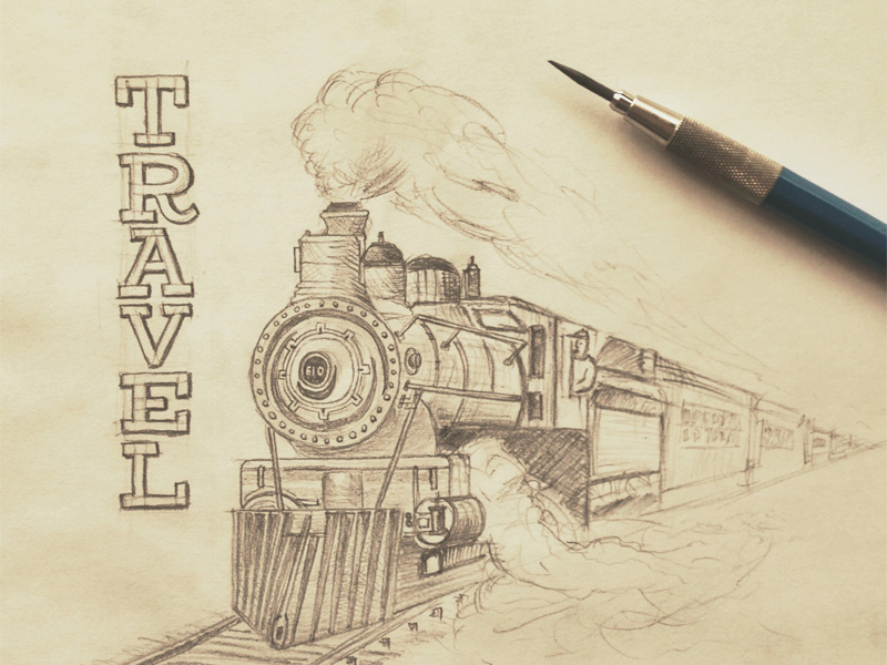 travel1 Astonishing Hand Lettering by Sean McCabe