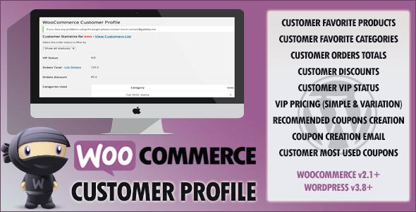 WooCommerce Customer VIP Profile
