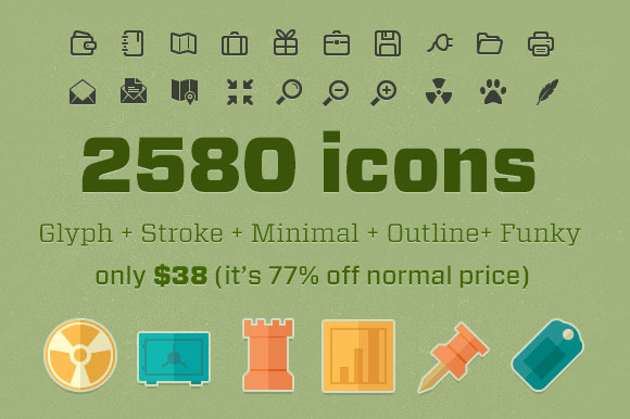 Flat Icon Bundle