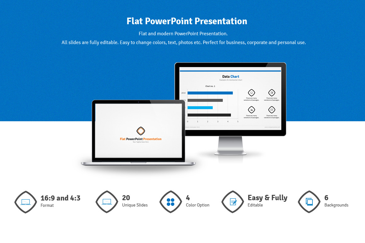 Lamp PowerPoint Template & Background for Presentation