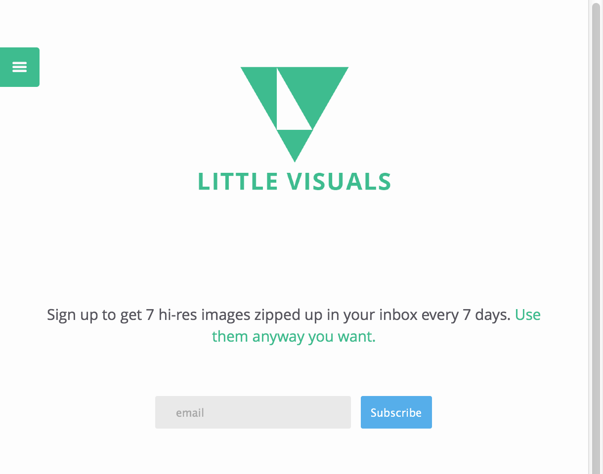 little visuals 25 Free Stock Photo Websites