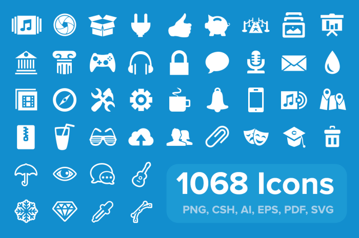 pixicon 20 Freshly Baked Icons for Your Designs