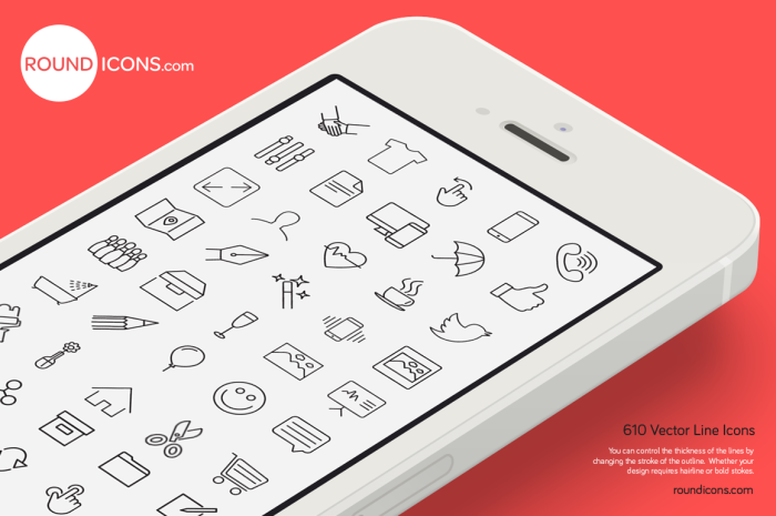vector icons 20 Freshly Baked Icons for Your Designs