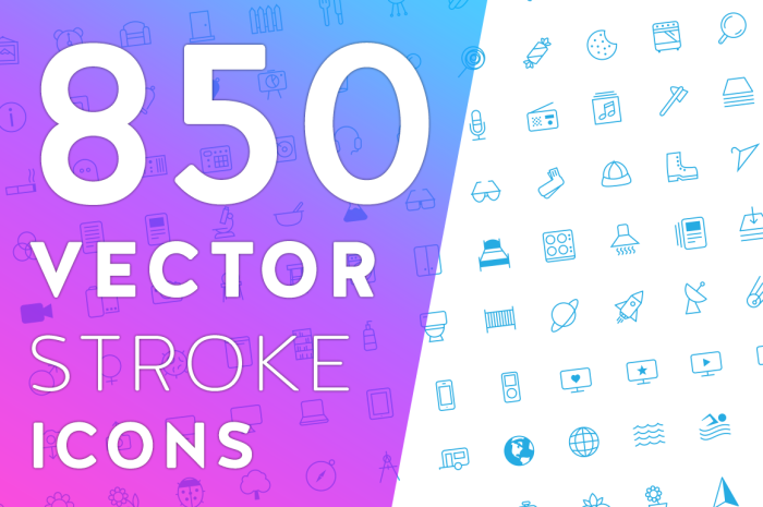 vector stroke icons 20 Freshly Baked Icons for Your Designs