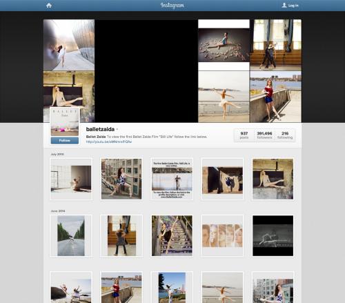balletzaida on Instagram (20140702)