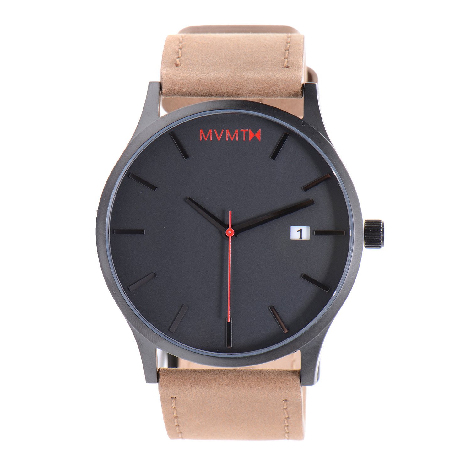 Simplicity is beauty 15 beautiful watches for minimalists inspirationfeed for Black tan watch