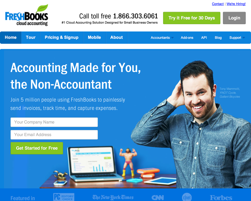 FreshBooks - Online Invoicing, Accounting & Billing Software (20140722)